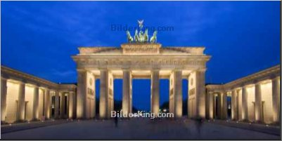 Leinwandbild - Michael Holst : Brandenburg Gate - Berlin, Germany