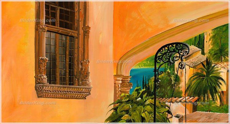 Wandbild mia morro brunnen des lebens wandbilder leinwanddruck keilrahmenbilder - Wandbilder keilrahmenbilder ...