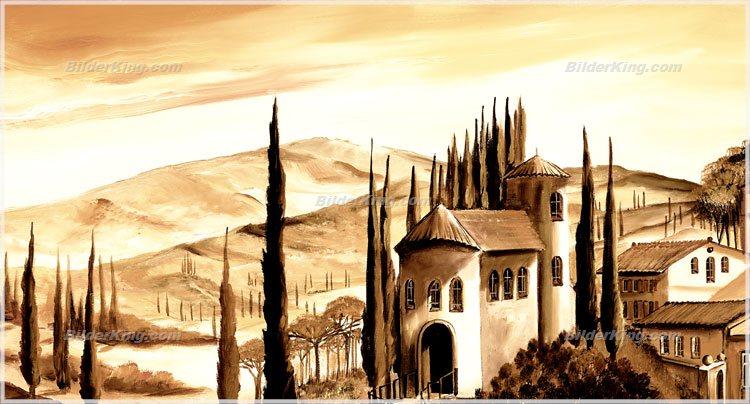 Wandbild mia morro toskana italien wandbilder leinwanddruck keilrahmenbilder kunstdruck - Wandbilder keilrahmenbilder ...