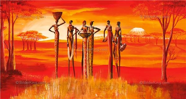 Wandbild mia morro beautiful massai wandbilder leinwanddruck keilrahmenbilder - Wandbilder keilrahmenbilder ...