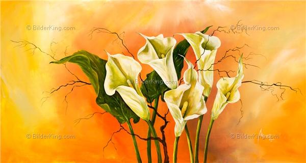 Wandbild mia morro calla romantika wandbilder leinwanddruck keilrahmenbilder kunstdruck - Wandbilder keilrahmenbilder ...