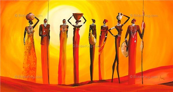 Wandbild mia morro massai sunset wandbilder leinwanddruck keilrahmenbilder kunstdruck - Wandbilder keilrahmenbilder ...