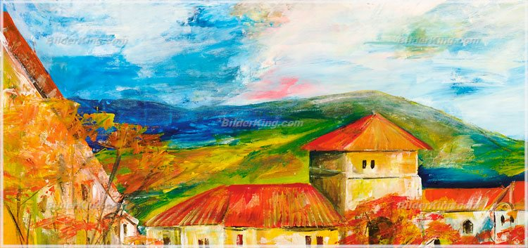 Wandbild mia morro herbstfarben wandbilder leinwanddruck keilrahmenbilder kunstdruck - Wandbilder keilrahmenbilder ...