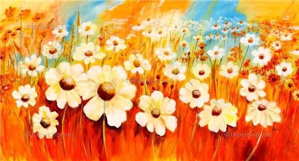 Wandbild mia morro fr hlingsblumen wandbilder leinwanddruck keilrahmenbilder kunstdruck - Wandbilder keilrahmenbilder ...