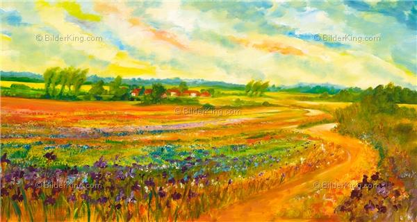 Wandbild mia morro color impression wandbilder leinwanddruck keilrahmenbilder - Wandbilder keilrahmenbilder ...