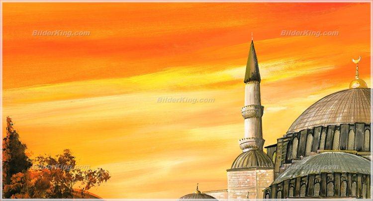 Wandbild mia morro suleiman moschee wandbilder leinwanddruck keilrahmenbilder - Wandbilder keilrahmenbilder ...