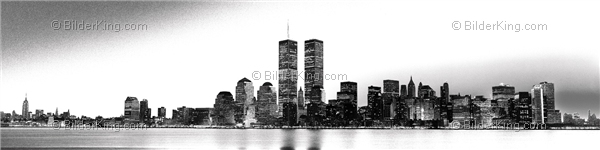 wandbild jack dyrell old new york skyline twin towers wandbilder leinwanddruck. Black Bedroom Furniture Sets. Home Design Ideas