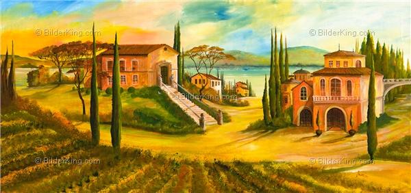 Mediterrane Gemälde wandbild morro mediterran impressions wandbilder