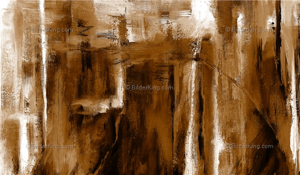 Mural - Jack Dyrell : Cognac Abstract in brown
