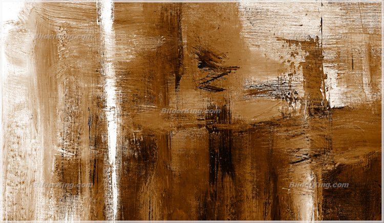 Detail: Mural - Jack Dyrell : Cognac Abstract in brown