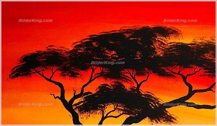 wandbild chanel simon sonnenuntergang in afrika wandbilder leinwanddruck. Black Bedroom Furniture Sets. Home Design Ideas
